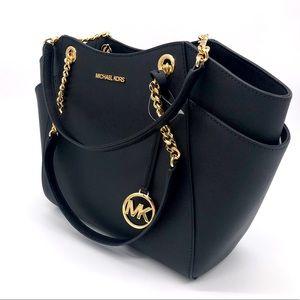Michael Kors Chain Shoulder Tote Bag